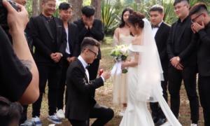 Hậu trường chụp ảnh cưới của con gái Minh Nhựa