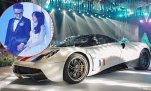 Tiệc cưới con gái Minh Nhựa gây choáng bởi dàn siêu xe