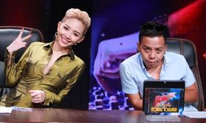Tóc Tiên công khai tình cảm với Hoàng Touliver