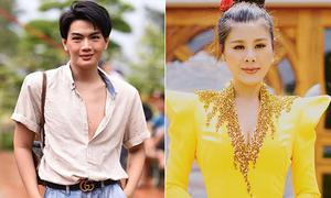 Trang phục đi cúng Tổ gây tranh cãi của sao Việt
