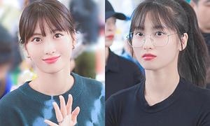 Sao Hàn người được khen, kẻ bị chê khi đeo kính ngố