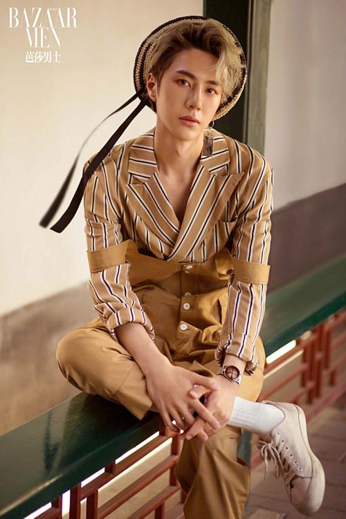 Nam ca sĩ - diễn viên sinh năm 1997 Vương Nhất Bác.