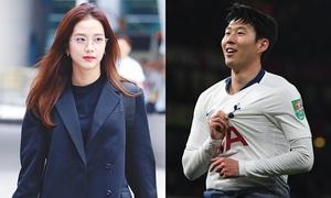 Ji Soo (Black Pink) bị đồn hẹn hò cầu thủ Son Heung Min