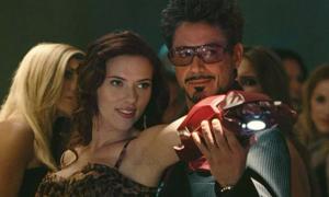 Iron Man trở lại trong phim riêng của Black Widow