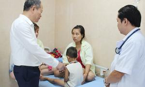 Gần 90 trẻ mầm non nhập viện nghi bị ngộ độc