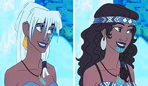 Công chúa Atlantis - Kida.