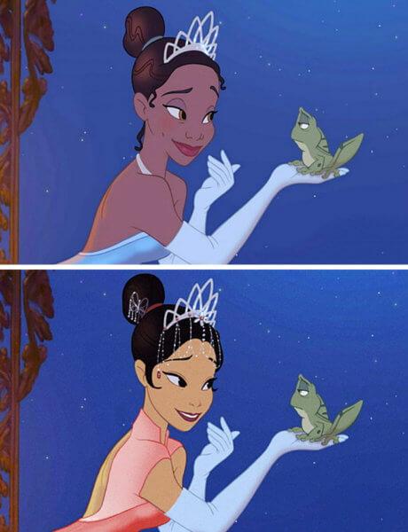 Công chúa và Chàng Ếch - Tiana.