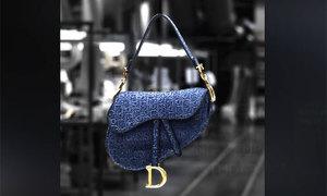 Quy trình làm chiếc túi Dior hình yên ngựa