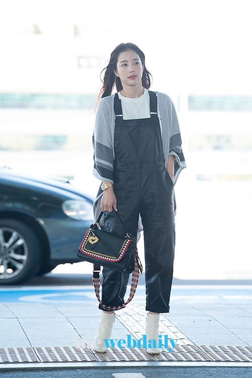 Diễn viên Ki Eun Se lên đường sang Milan để dự tuần lễ thời trang.
