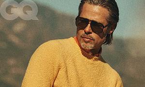 Brad Pitt phong độ, quyến rũ trên tạp chí