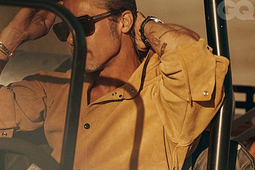 Bộ ảnh của Brad Pitt trên tạp chí GQ - 3