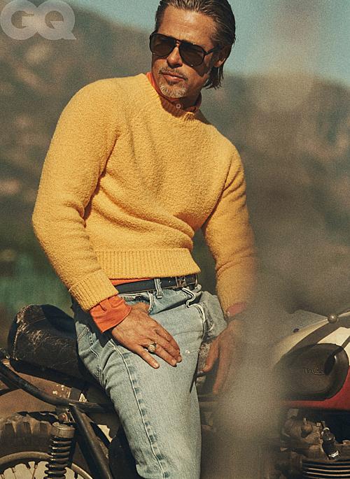 Bộ ảnh của Brad Pitt trên tạp chí GQ - 2