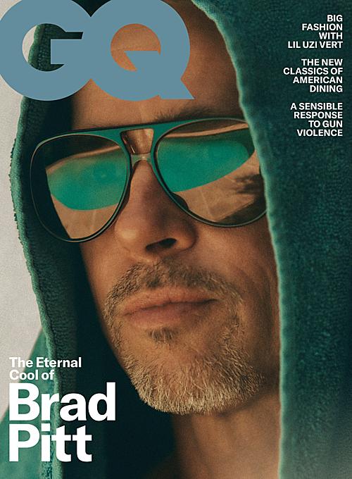 Bộ ảnh của Brad Pitt trên tạp chí GQ