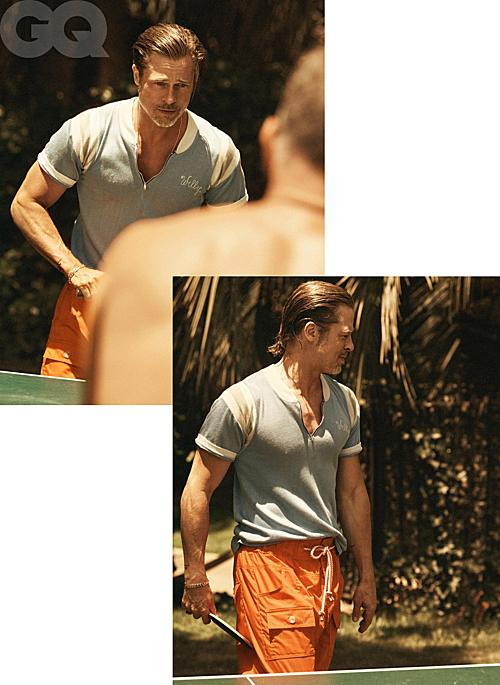 Bộ ảnh của Brad Pitt trên tạp chí GQ - 8