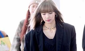 Idol Hàn phối sành điệu với mốt 'áo khoác của bố'