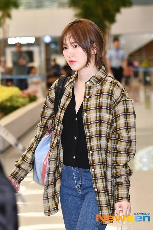 Kiểu tóc của Wendy được nhiều cô gái học tập nhất 2019.