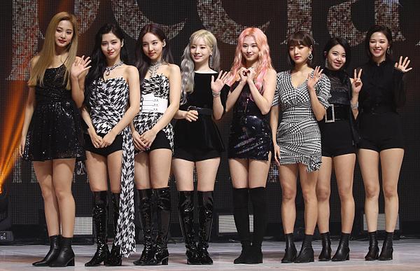 Twice tại họp báo comeback.