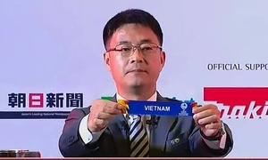 Khoảnh khắc bốc thăm Việt Nam tại VCK U23 châu Á 2020