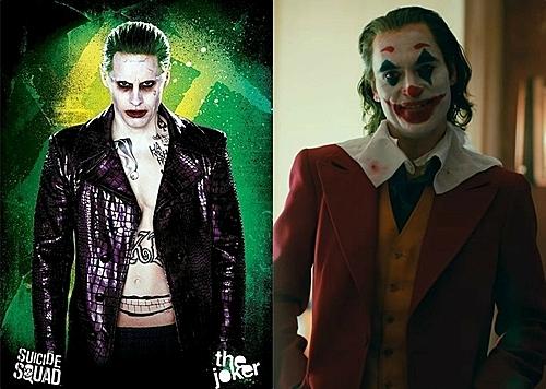 Hai phiên bản Joker của điện ảnh hiện tại.
