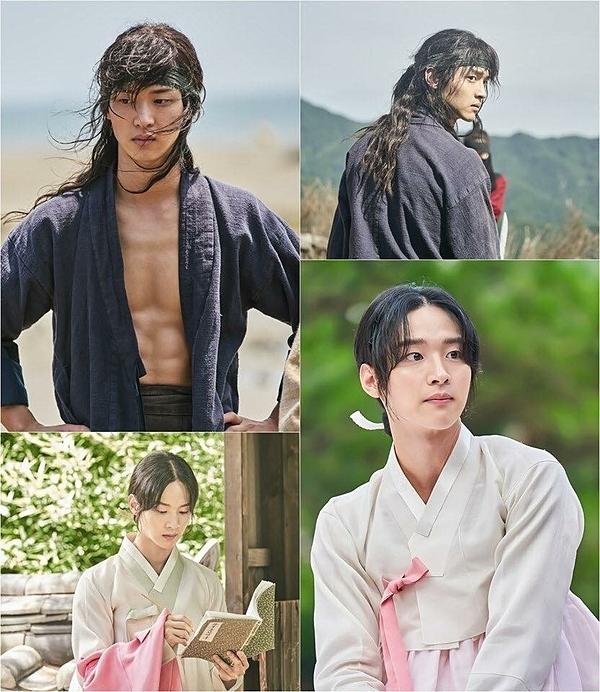 Tạo hình nam lẫn nữ của Jang Dong Yoon đều được khen ngợi.