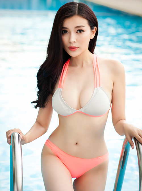 Nữ diễn viên sở hữu vóc dáng chuẩn mựcChiều cao: 1m70; Số đo 3 vòng: 86-60-92