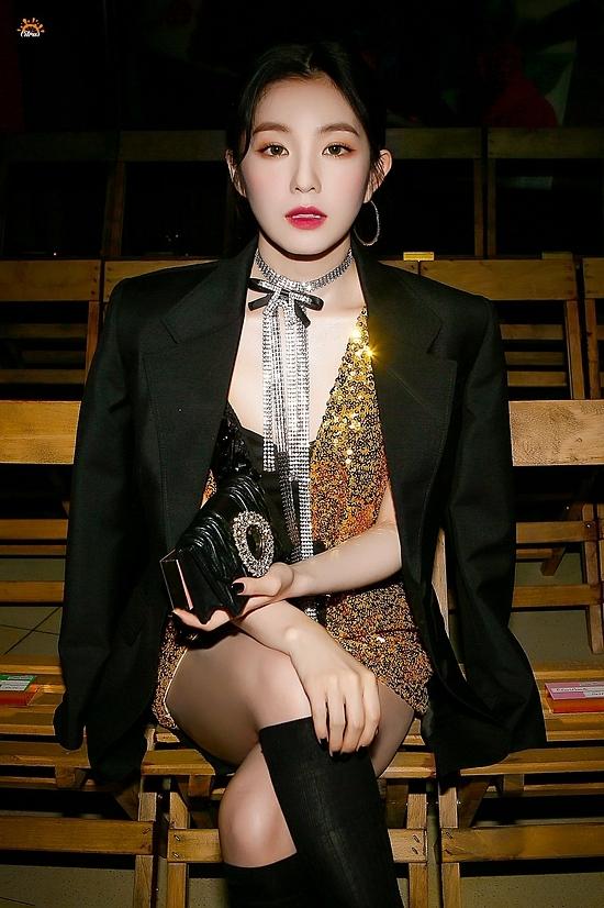 Bức ảnh huyền thoại của Lia (ITZY) - Irene (Red Velvet)