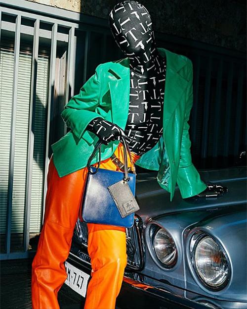 Gần đây lối ăn mặc như Ninja Lead càng được lăng xê mạnh mẽ.
