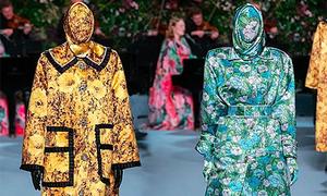 Trang phục như 'Ninja Lead' tràn vào các fashion week thế giới