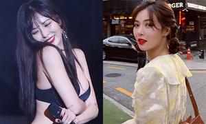 Hyuna chinh phục hai style đối lập nhờ đổi kiểu tóc