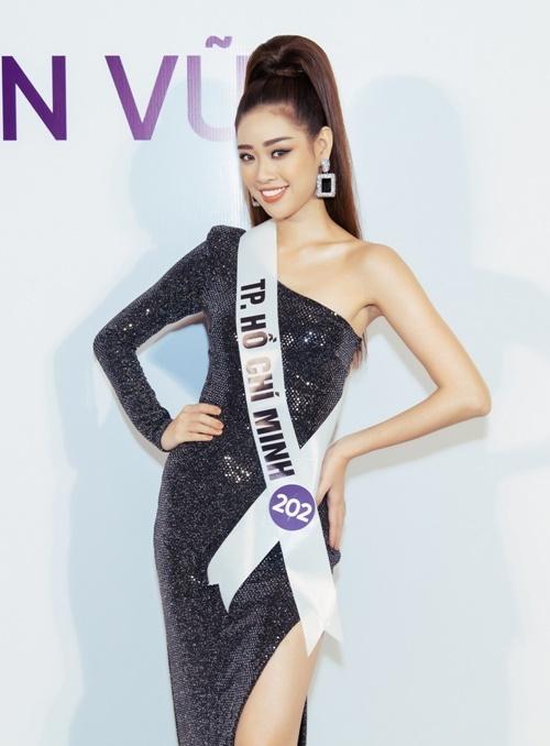 Nguyễn Trần Khánh Vân từng vào top 10 Hoa hậu Hoàn vũ cách đây bốn năm.
