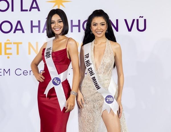 Lê Thu Trang (trái) và Phạm Hồng Thúy Vân (phải) đều là hai gà chiến.