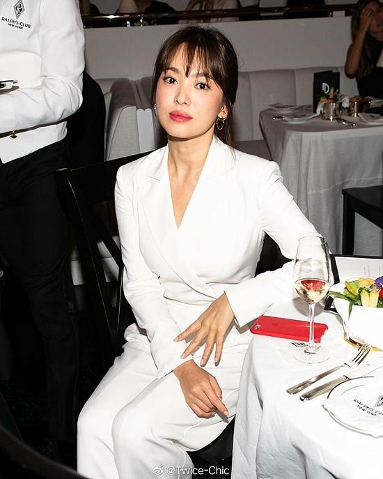 Hình ảnh Song Hye Kyo tại New York Fashion Week hồi tháng 9.
