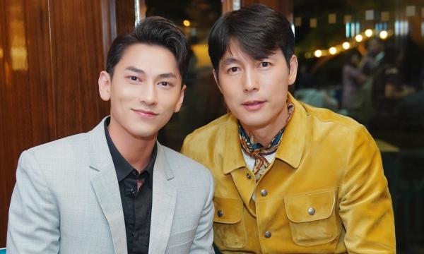 Isaac và Jung Woo Sung.