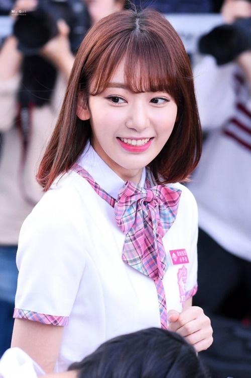 Sakura là thí sinh nổi bật ngay từ vòng đầu của Produce 48.