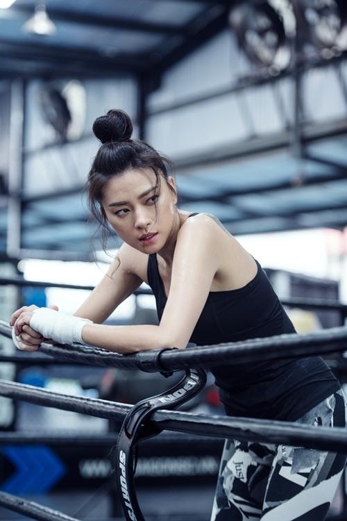 Đả nữ Ngô Thanh Vân.
