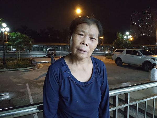 Bà Phạm Thị Châm - bác ruột của Hoa.