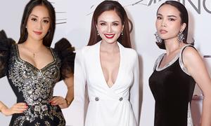 Mỹ nhân Việt mặc sexy dự show thời trang