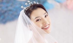 'Cô dâu' Hoàng Oanh bật mí về hôn lễ trong mơ