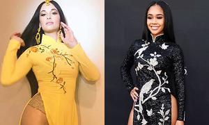 Những sao ngoại bị chỉ trích 'phá hỏng áo dài Việt Nam'