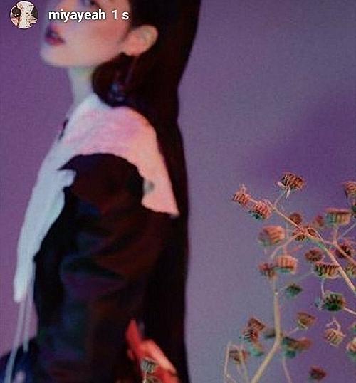 Sun Mi chia sẻ ảnh tạp chí cũ của Sulli với dòng chú thích: Bạn là một người xinh đẹp.