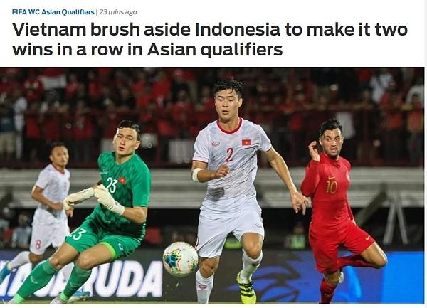 Báo châu Á: Việt Nam bất bại tại vòng loại châu Á 2020