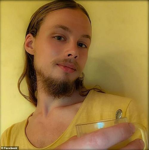 Jan van Zon Dorsten để tóc và râu dài.
