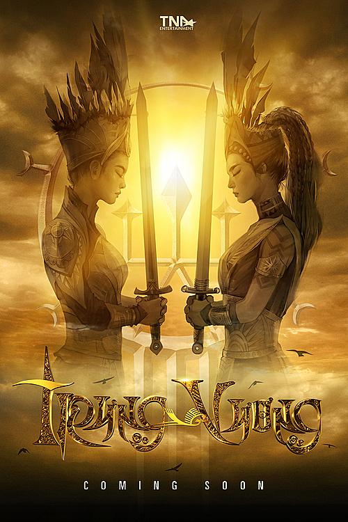 aser poster của Trưng Vương