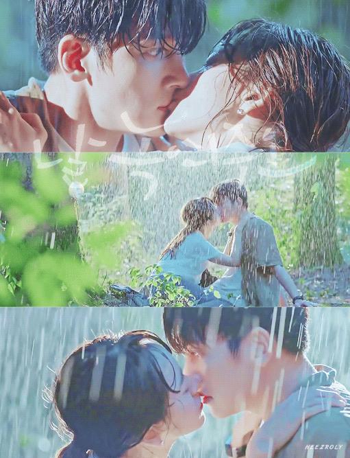 Nhân vật Ma Dong Chan (Ji Chang Wook) có nụ hôn lãng mạn dưới mưa với Go Mi Ran (Won Ji Ah) vào cuối tập 7.