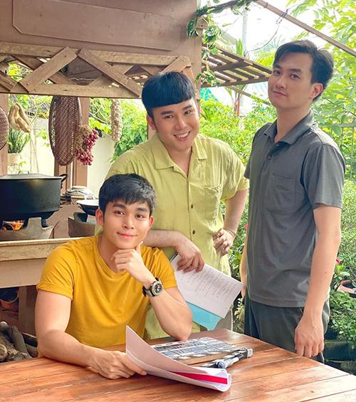 Jun Phạm hợp tác cùng Tiến Công và Anh Tuấn trong phần hai của Gạo nếp gạo tẻ.