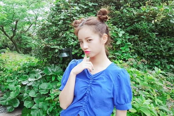 Hyeri của Girl's Day từng đăng tải bức hình