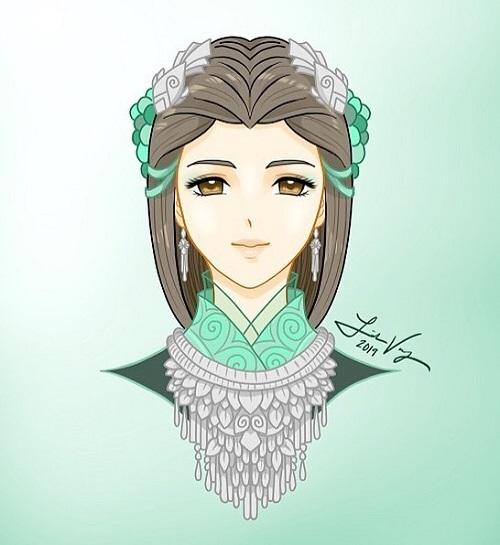 12 cung hoàng đạo với tạo hình thiếu nữ Hmong - 11