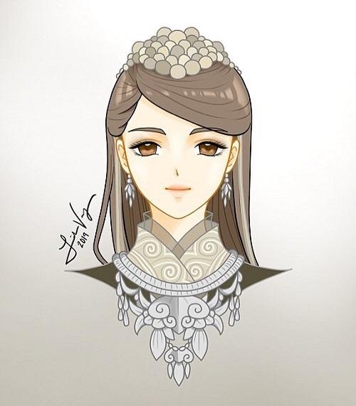 12 cung hoàng đạo với tạo hình thiếu nữ Hmong - 3
