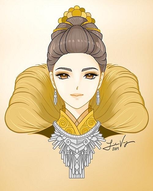 12 cung hoàng đạo với tạo hình thiếu nữ Hmong - 4