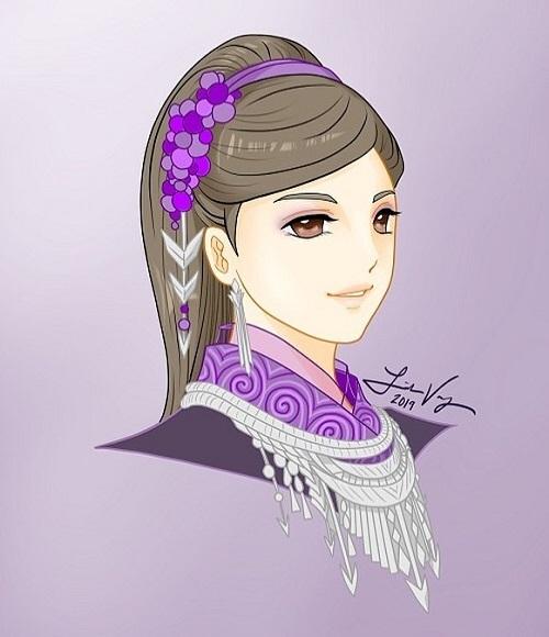 12 cung hoàng đạo với tạo hình thiếu nữ Hmong - 8